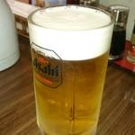 成久中国料理 - 生ビール。