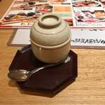 すし波奈 - 茶碗蒸し。       美味し。