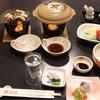 旅館くりもと - 料理写真:1日目の夕食