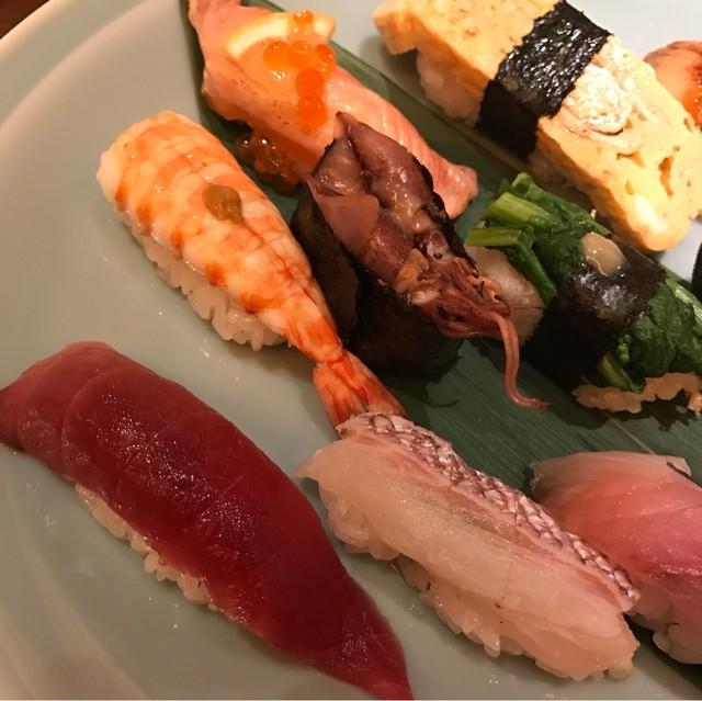 すし波奈 浦和パルコ店 - こだわりにぎり。 美味し。