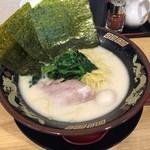 横濱家系ラーメン 神山 松屋町店 - 濃厚とんこつ塩ラーメン(680円)