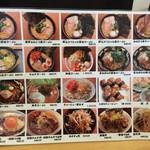 横濱家系ラーメン 神山 松屋町店 - メニュー
