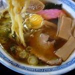 6555134 - 正油ラーメンの麺