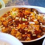 中華居酒屋 彩味園 - 日替わりランチの麻婆豆腐