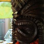 カフェダイナー コナ - ハワイの神様ティキ