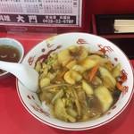 65550630 - カレー中華丼。