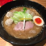 らーめん 煮干し裕次郎 Lab - 鶏煮干しらーめん醤油(830円)