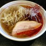 麺屋 義 - 辛いラーメン(チャーシュー 850円)