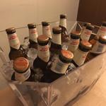 65552464 - 飲み放題の場合、モレティビールが1人につき2本付いてくるようだ