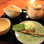 茶亭 瀧春 - 料理写真:煎茶セット