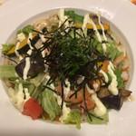65553067 - 海老と10種の野菜のサラダうどん ¥599