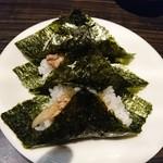 浦咲ラーメン駅前 - 2017年3月 チヤむすび 210円