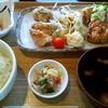 なないろ食堂 - 料理写真:日替わりランチ(日曜日) \680 からあげさん & チキン南蛮 定食