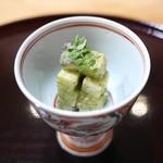 豪龍久保 - 京都塚原の朝掘り筍と原木椎茸(愛知)、木の芽