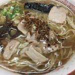 天琴 - 大盛ラーメン (750円)