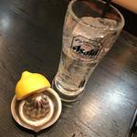 65556952 - 生搾りレモンサワー