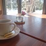 奥日光森のホテル - ドリンク写真:無料のモーニングコーヒー
