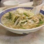 中華料理 大宝 - タンメン