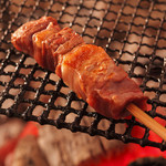 一里野高原ホテル ろあん - 料理写真:猪串焼き