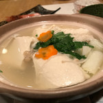 浜町 ふじ田 - 湯豆腐600円