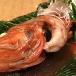 浜町 ふじ田 - キンキの煮付け2300円