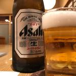 浜町 ふじ田 - 瓶ビール