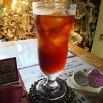 伊原間 郷の駅 - ドリンク写真:アイスコーヒーです