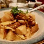龍鳳 - 新筍と豚角煮