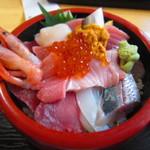 65563057 - H26.06 海鮮丼 ¥1,360
