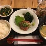 65564154 - 天然ブリ胡麻定食