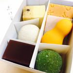 空也 - 上生菓子  6個入り  1410円