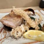 よし春 - 白甘鯛塩焼き