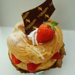 菓子工房 T.YOKOGAWA - 苺のパリブレスト