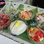 浜木綿 - 海鮮丼コーナー