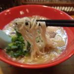 麺家おとみ - 初号機の麺リフト