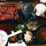 竜門 - 料理写真:ひつまぶし 竹 ((o(。>ω<。)o))