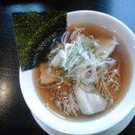 麺屋 蓮 - 中華蕎麦:650円(税込)【2017年4月撮影】