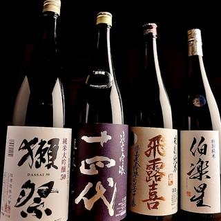 東北や全国の銘酒12種以上が飲み放題のコースご用意してます!