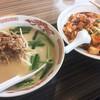 新中華 - 料理写真:台湾豚骨ラーメンとマーボー丼