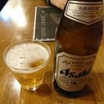 らー麺 鉄山靠 - 瓶ビール550円