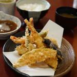 光村 - 天ぷら定食