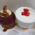 クレール ドゥ リュンヌ - タルトタタン、ショートケーキ