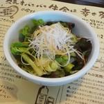 ステーキバンバン牛舎 - ミニ野菜サラダ 180円