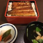 魚政 - うな重二段上(5,000円)