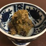 魚政 - ふきみそ(380円)
