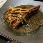 65574465 - 希少部位、のど肉の山椒煮