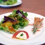 グラッチャーノ - 前菜サラダ