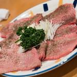 炭焼 金竜山 - 2017.4 上タン塩(3,200円)
