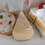 Patisserie SOIR - モンテリマール、スワレフロマージュ、美珠卵ショート