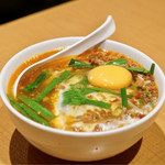 味仙 - ■台湾ラーメン 玉子入り 820円